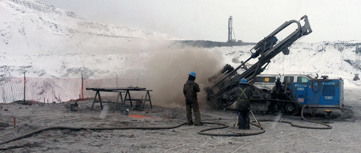 Rock Blasting Service : Blasting contractor innisfail alberta canada
