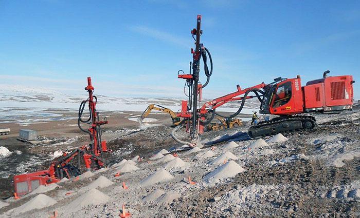 Rock Blasting Service : Mining drilling blasting innisfail alberta canada